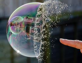 Mother Nature (Or A Bioweapons Lab) Was The Pinprick That Popped The Bubble