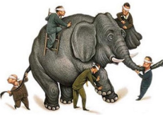 Inflation/Deflation: The Economy Is an Elephant