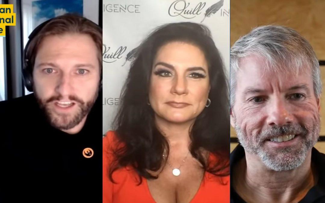 Bitcoin Bull and Fed Bear – Michael Saylor and Danielle DiMartino Booth