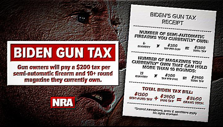 Biden's Gun Control Plan Would Cost Gun Owners $34 Billion In Taxes