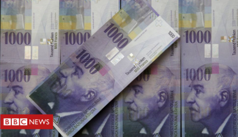US labels Switzerland a currency manipulator