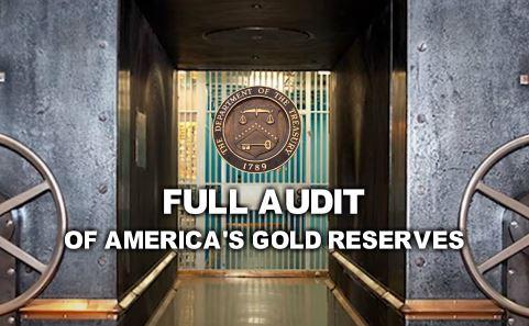 U.S. Congressman Seeks Full Audit of America's Gold Reserves