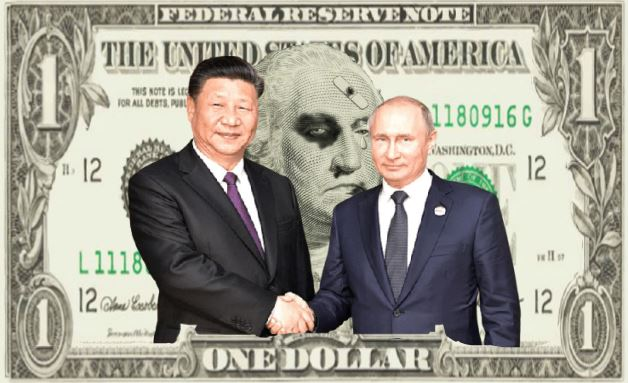 The Handshake That Ended the Dollar Reserve Status